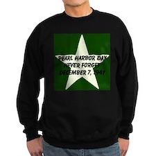 Pearl harbor day: Never forge Sweatshirt