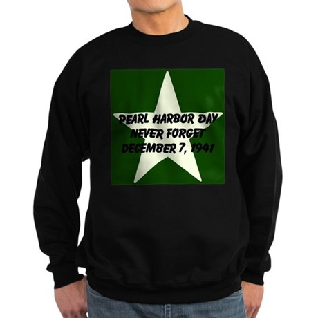 Pearl harbor day: Never forge Sweatshirt (dark)