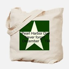 Pearl harbor day: Never forge Tote Bag