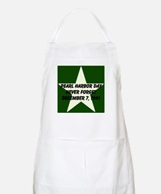 Pearl harbor day: Never forge Apron