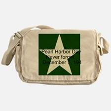 Pearl harbor day: Never forge Messenger Bag