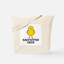 Babysitter Chick Tote Bag