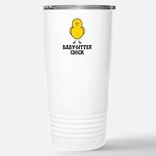 Babysitter Chick Stainless Steel Travel Mug