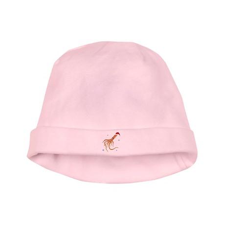 Santa - Squid baby hat