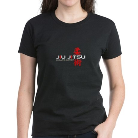 Jiu Jitsu - Escape Artist Women's Dark T-Shirt