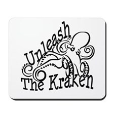 Unleash the Kraken Mousepad