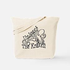 Unleash the Kraken Tote Bag