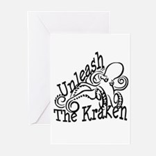 Unleash the Kraken Greeting Cards (Pk of 20)