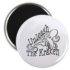 """Unleash the Kraken 2.25"""" Magnet (10 pack)"""