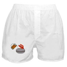 Fueled By Beer Boxer Shorts