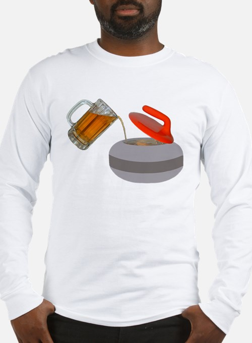 Fueled By Beer Long Sleeve T-Shirt