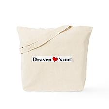 Draven Loves Me Tote Bag
