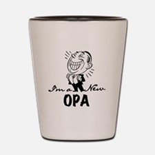 Smiling New Opa Shot Glass