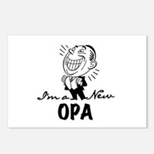 Smiling New Opa Postcards (Package of 8)