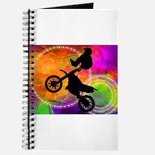 Cute Dirt bike racing Journal