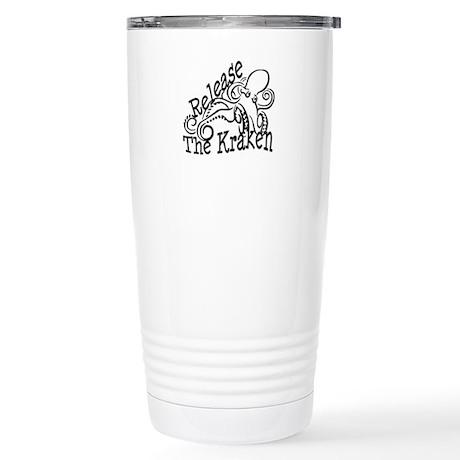 Release the Kraken Stainless Steel Travel Mug