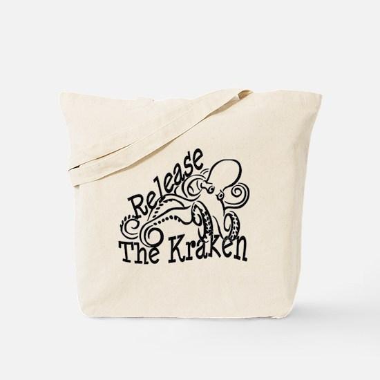 Release the Kraken Tote Bag