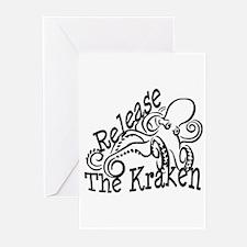 Release the Kraken Greeting Cards (Pk of 20)
