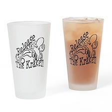 Release the Kraken Drinking Glass