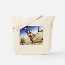 Cute Dirt bike racing Tote Bag