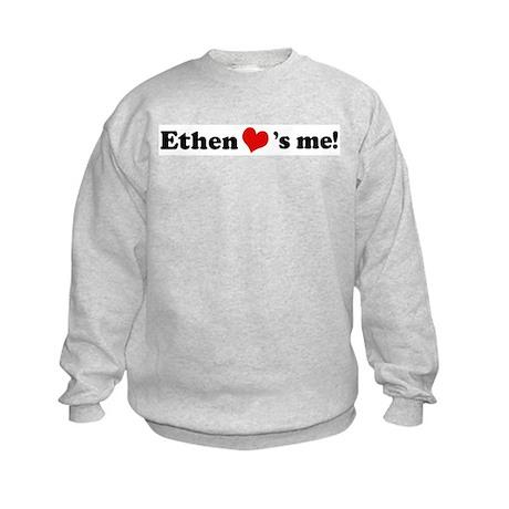 Ethen Loves Me Kids Sweatshirt