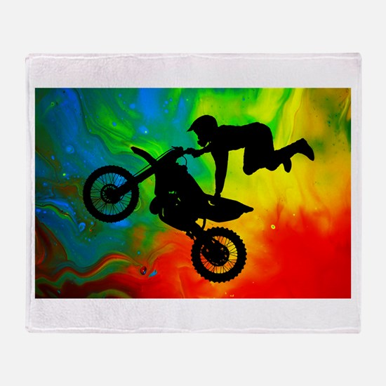 Cute Bike Throw Blanket