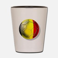 Belgian Football Shot Glass