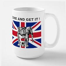 British Bulldog Large Mug