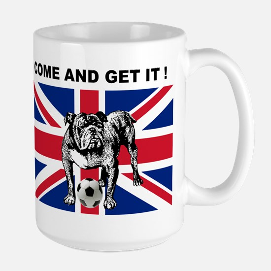 British Bulldog Large Mug