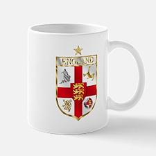 England Gold Shield Soccer Mug