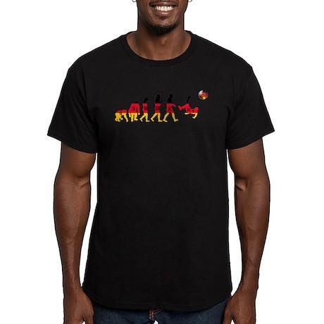 German Football Men's Fitted T-Shirt (dark)