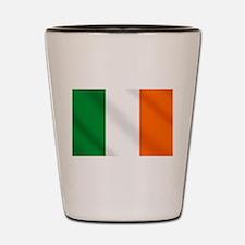 Irish flag of Ireland Shot Glass