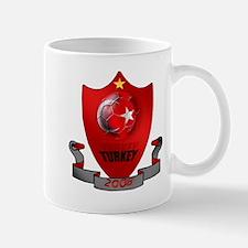 Turkish Football Shield Mug