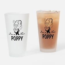 Smiling New Poppy Drinking Glass