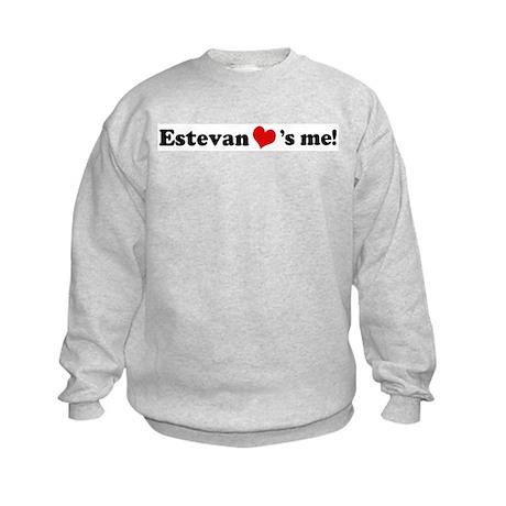 Estevan Loves Me Kids Sweatshirt