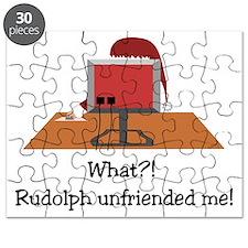 Rudolph Unfriended Me! Puzzle