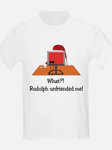 Rudolph Unfriended Me! T-Shirt