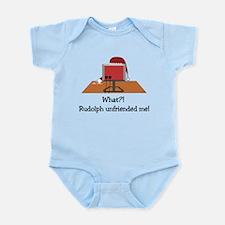 Rudolph Unfriended Me! Infant Bodysuit
