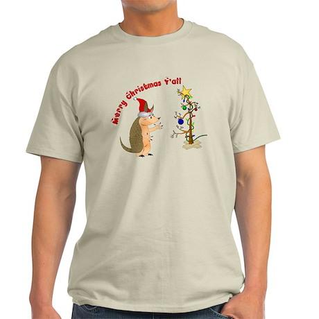 Armadillo Christmas Light T-Shirt