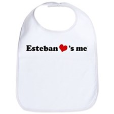 Esteban Loves Me Bib