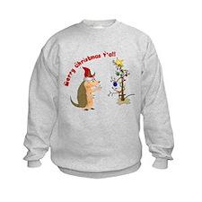 Armadillo Christmas Sweatshirt