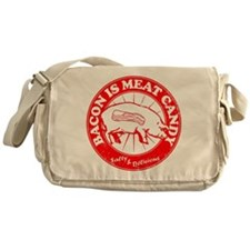 Bacon Is Meat Candy Messenger Bag
