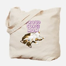 Proud Tri Corgi Mom Tote Bag