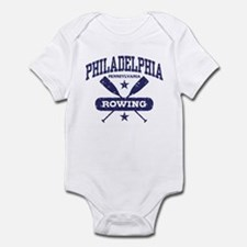 Philadelphia Rowing Infant Bodysuit