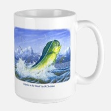 Dolphin in the Weeds Mug