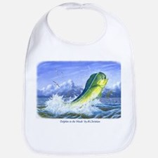 Dolphin in the Weeds Bib