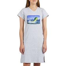 Dolphin in the Weeds Women's Nightshirt