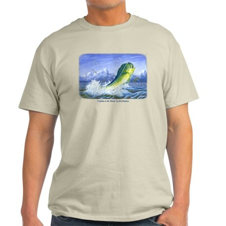 Dolphin in the Weeds Light T-Shirt