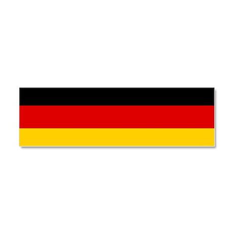 Germany/Deutschland Car Flag Car Magnet 10 x 3