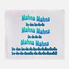 Mahna Mahna Throw Blanket